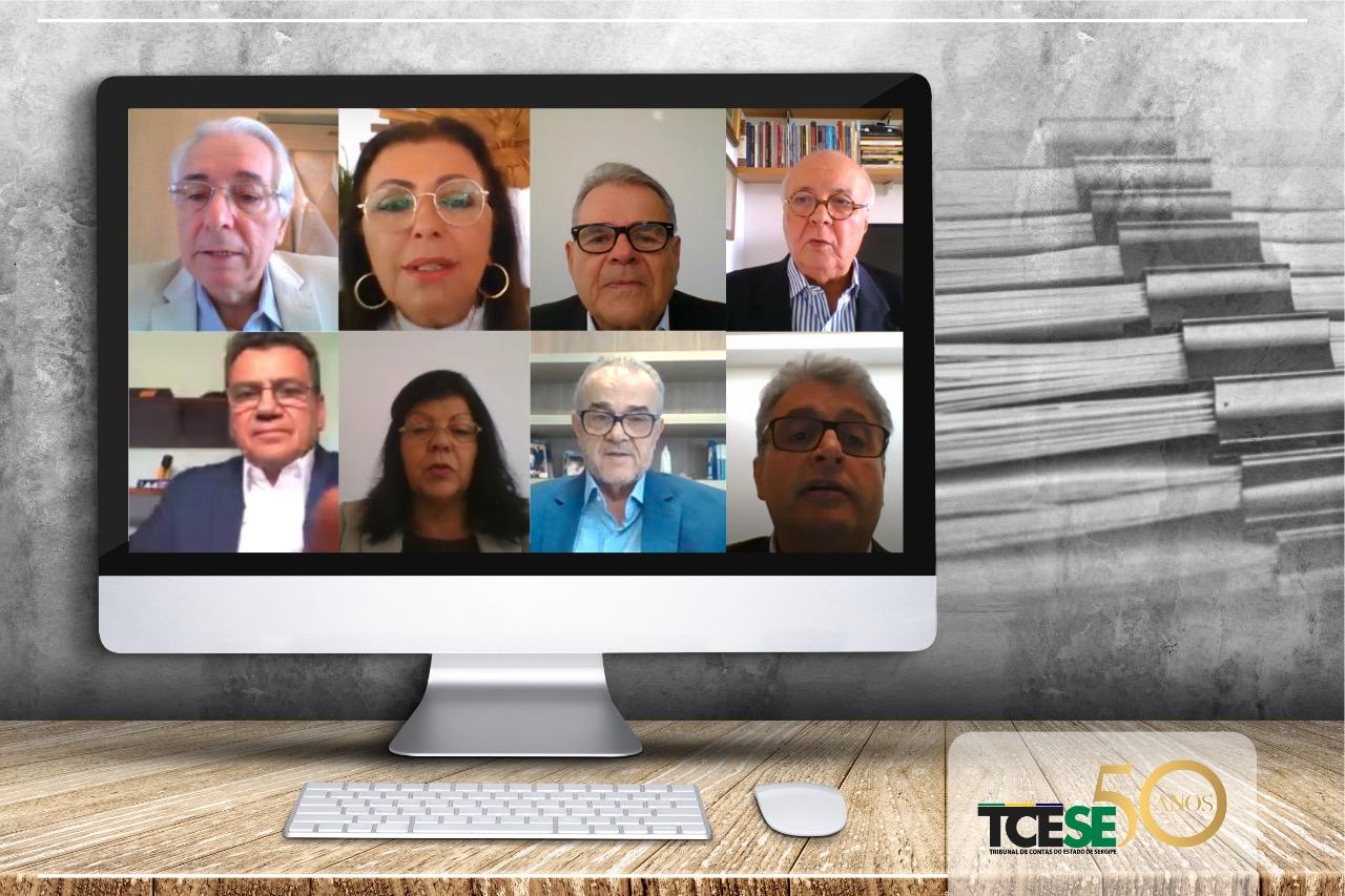TCE chega a mais de mil processos julgados em sessões virtuais