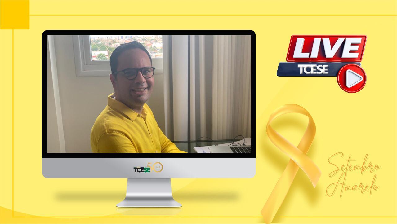 Setembro Amarelo: Live do TCE conscientiza sobre a prevenção do suicídio