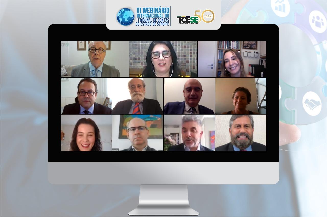 III Webinário Internacional: TCE reúne juristas renomados em debate sobre Administração Pública, Estado e Cidadania