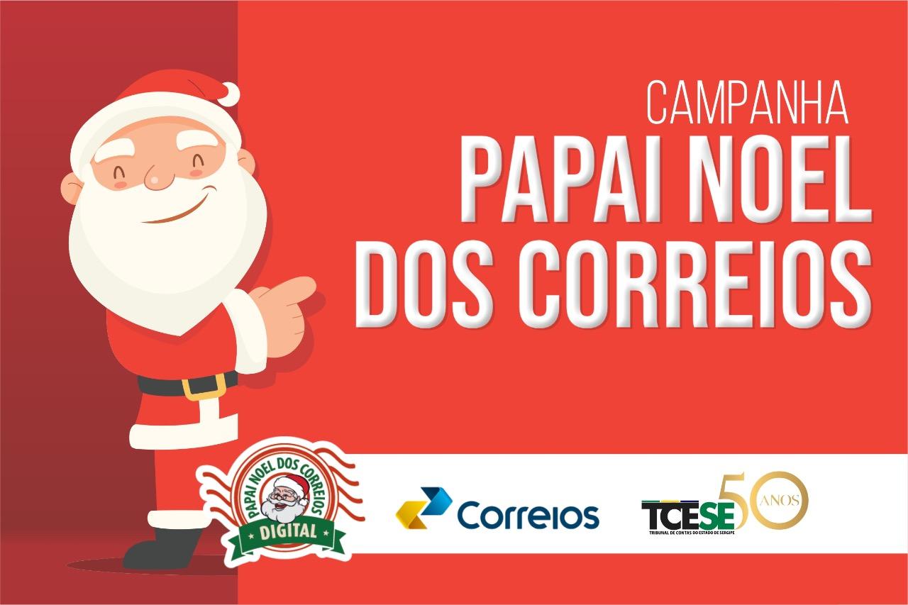 Tribunal de Contas adere à campanha Papai Noel dos Correios