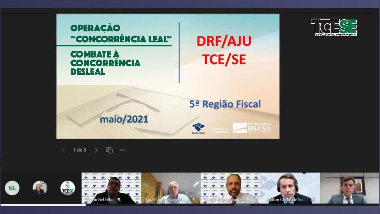 Ação conjunta entre Receita Federal e TCE identifica indícios de sonegação de R$ 542 milhões em Sergipe
