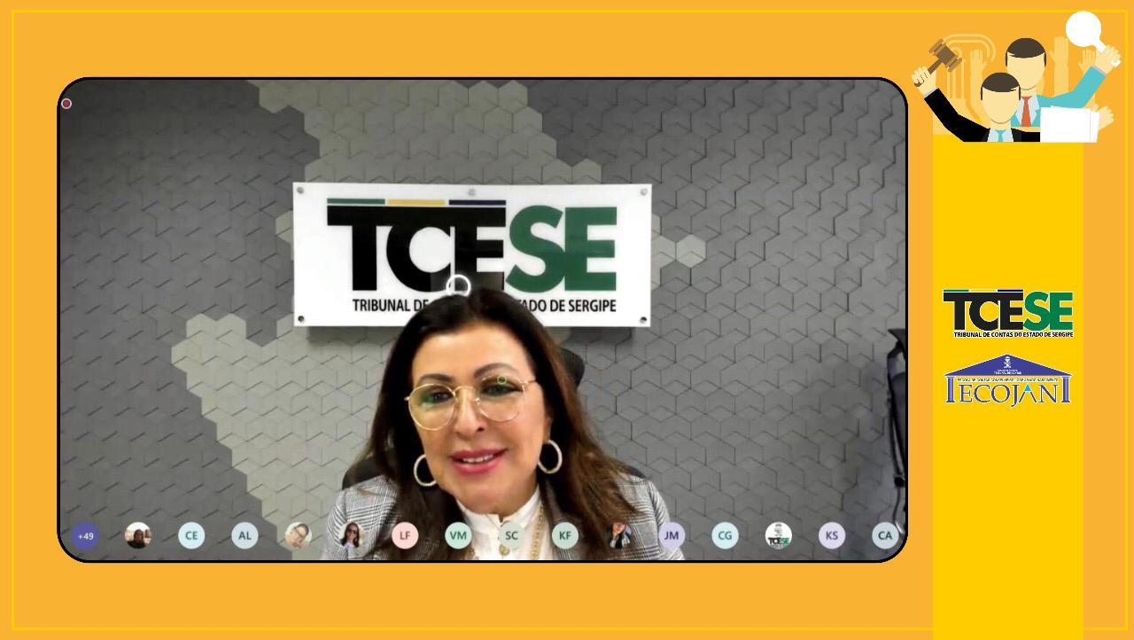 Conselheira Susana Azevedo reforça papel do controle interno em aula sobre a nova Lei de Licitações