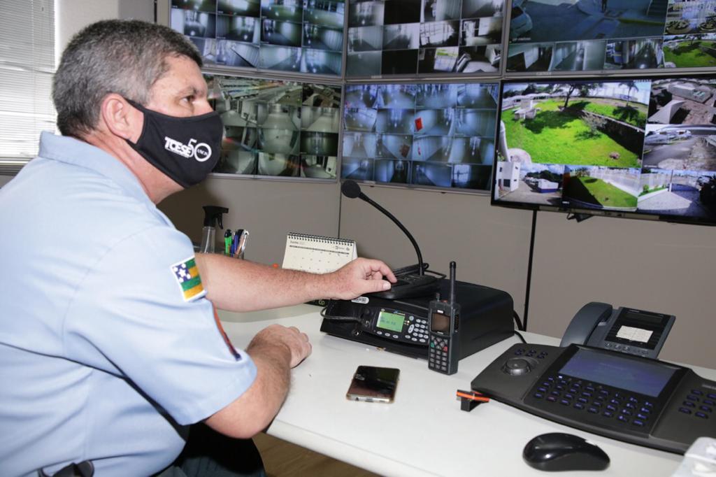 Assessoria Militar incrementa segurança no TCE com rádios comunicadores digitais