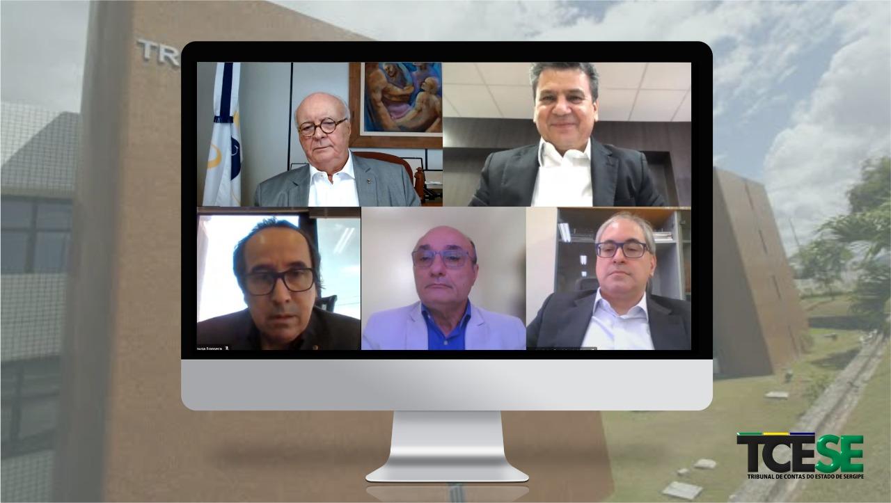 Conselheiros julgam 22 processos em sessão virtual da Segunda Câmara do TCE